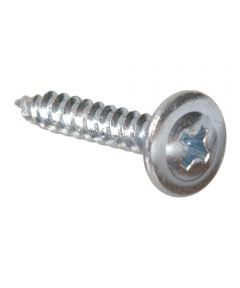 Truss Washer Head Needle Point Lath Screw #8 x 1-1/2 in., 1 lb. Box