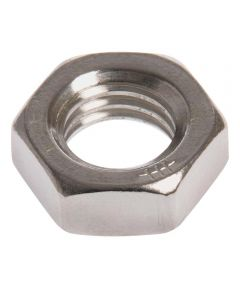 Stainless Steel Hex Jam Nut (1/4-20 Coarse)