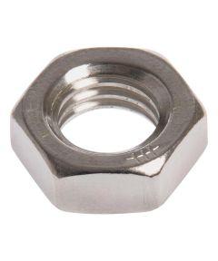 Stainless Steel Hex Jam Nut (3/4-16 Fine)
