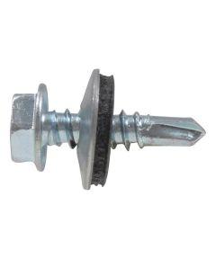Washer Head Self Drilling Screw #10 x 1-1/2 in., 1 lb. Box