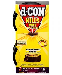 D-CON No-Touch No-View Mouse Trap