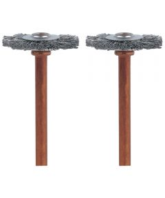 3/4 in. Stainless Steel Brushes 2 Pack