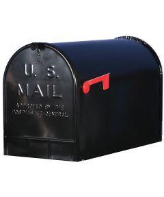Black Jumbo Size Rural Mailbox