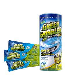 Green Gobbler Drain Opening Pacs, 3 Packs