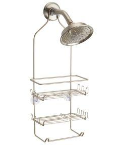 InterDesign Silver Milo Shower Caddy