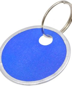 Paper Tag Key Chain