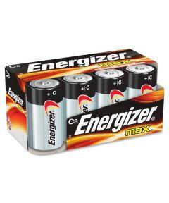 Energizer Max C Alkaline Battery, 8 Pack