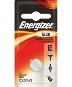 Energizer 1220 3V Lithium Battery, 1 Pack