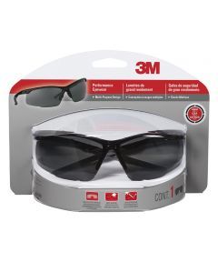 3M Gray Multi-Purpose Performance Sports Inspired Design Safety Glasses