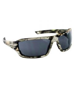 Gray Polycarbonate Dry Forest Camo Safety Glasses