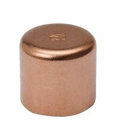1/2 in. Copper Cap,C x C, Bag of 10