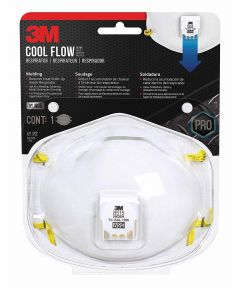 3M N95 Disposable Cool Flow Particulate Welding Respirator Mask