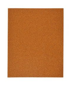 Gator 80 Grit Bare Wood Medium Sandpaper, 11 in. x 9 in., Single Sheet