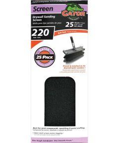 Pre-Cut Drywall Sanding Screen, 11 in. x 4-3/8 in., 220 Grit