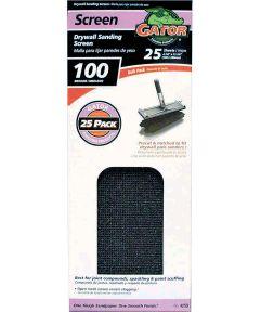 Pre-Cut Drywall Sanding Screen, 11 in. x 4-3/8 in., 100 Grit