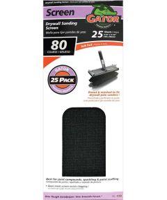 Drywall Sanding Screen, 11 in. x 4-3/8 in., 80 Grit
