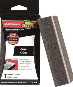 Gator Fine Grit Wedge Sanding Sponge, 5 in. x 3 in. x 1 in.