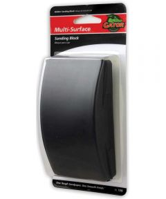 Gator Classic Multi-Surface Sanding Block, For Use With Cut to Fit Sandpaper and Stick on Sandpaper, Rubber
