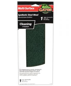 Gator Multi-Surface Synthetic Steel Wool Cleaning Pad, 11 in. x 4-1/2 in.