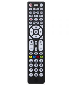 8 Device Black Ultrapro Universal Remote Control