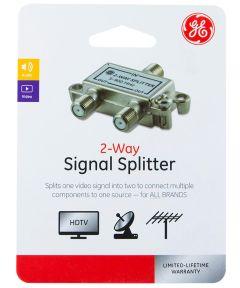 2-Way Audio/Video Coax Splitter