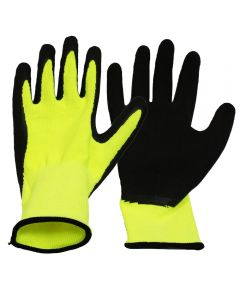 Large Neon Work Gloves