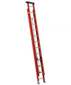 Louisville 24 ft. Multi-Section Fiberglass Extension Ladder with Pro Top, 300 lb. Load