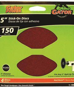 5 in. 150 Grit Psa Disc 4 Pack