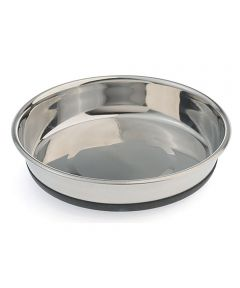 Extra Small 2.5 Cup No-Slip Stainless Steel Cat Bowl