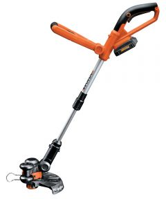 Worx Cordless Grass Trimmer/Edger, 10 in, 20 V Lithium-Ion Battery, Electric Starter, 1 String Line