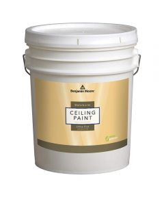 5 Gallon Waterborne Ceiling Paint, Ultra Flat