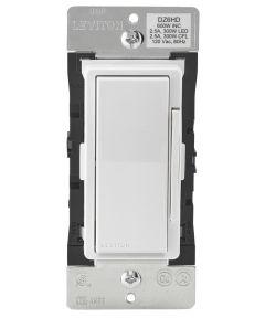120V 15A 600W White/Light Almond Decora Z-Wave Rocker Dimmer Switch