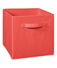 Cubeicals Fabric Drawer, Coral