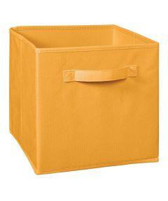 Cubeicals Fabric Drawer, Orange Cream