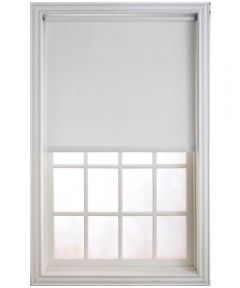 "73"" X 66"" Cream Medium Weight Light Filtering Roller Shade"