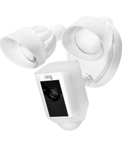 Ring Floodlight Cam Security Camera, White