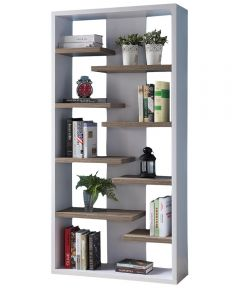Display Bookcase, White