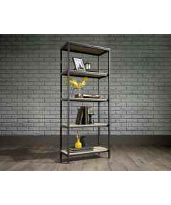 North Avenue Tall Bookcase, Charter Oak Finish