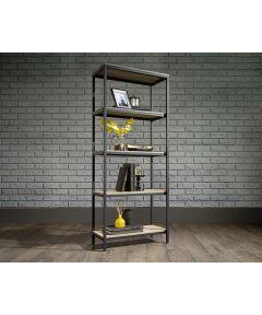 North Avenue Tall Bookcase, Charter Oak Finish