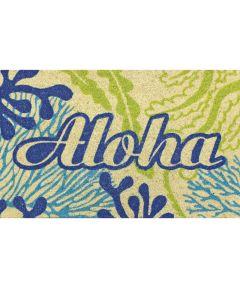 Aloha  Welcome Mat, Sea