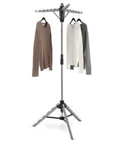 """28"""" X 28"""" X 64.5"""" Tripod Garment & Drying Rack"""