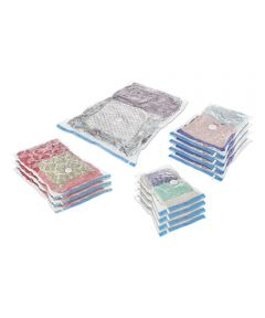 Clear Spacemaker Vacuum Bag 12 Piece Set
