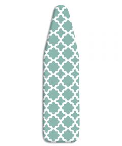"54"" X 15"" Concord Turquoise Ironing Board Cover & Pad"