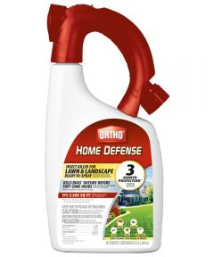 32 Oz Ready-To-Use Spray Home Defense Insect Killer For Lawns