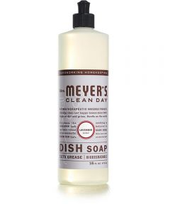 Mrs. Meyer's Clean Day Biodegradable Dish Soap, Lavender Scent, 16 oz.
