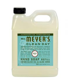 Mrs. Meyer's Clean Day Hand Soap Refill, Basil Scent, 33 oz.