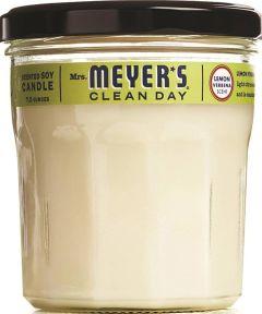 Mrs. Meyer's Soy Scented Candle, Lemon Verbena Scent, 7.2 oz.