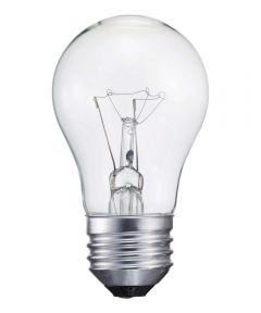 40 Watt E26 A15 Clear Soft White Incandescent Dimmable Light Bulb