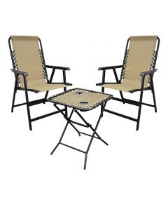 3-Piece Table & Chair Bistro Set
