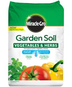 Miracle-Gro 1 Cu Ft Garden Soil for Vegetable& Herbs